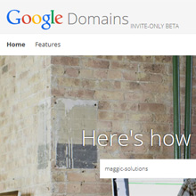 Google Registry & Google Domain